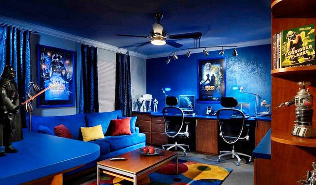 This room is one of my perfect personal favorites, the vibrant colors make it fun and decorative, something that doesn't get old.