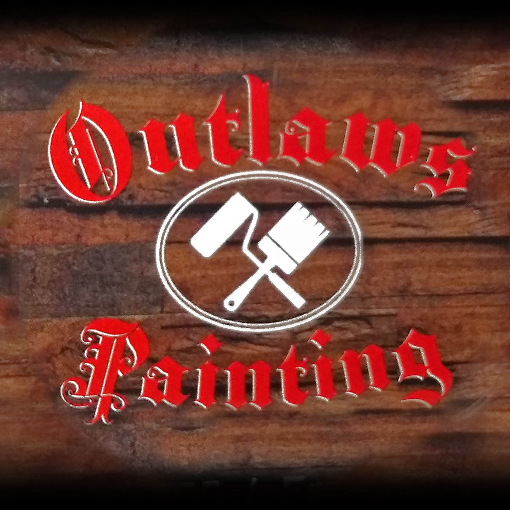 Outlaws Painting