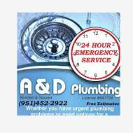 A & D Plumbing : From clearing a clogged drain, to re-piping an entire house, we do it all!. We do Water Heaters, Bath Fixtures, Garbage Disposals, Faucets, Whole House Re-Piping, Drains, Gas Pipes, And More!
