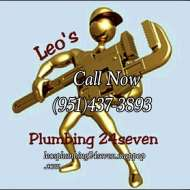 Leo's 24 Seven Plumbing : The Most trustworthy plumber in the city of Murrieta!. We do Faucet Installation, Bathtub and Shower Repair, Water Heater Installation, Sewer Services, Toilet Installation, Emergency Services, Pipe Repair, Pipe Installation, Water Heater Repair, Garbage Disposal Repair, Drain Cleaning, Drain Installation, Sink Repair, Toilet Repair, Faucet Repair